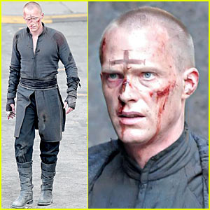 Paul Bettany is a Bloody and Bruised Priest