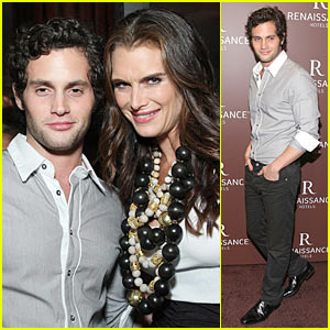 Penn Badgley Talks Tattoos 'N Tennis -- Exclusive JustJared.com Interview