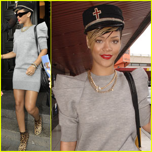 Rihanna is Bellhop Beautiful in Berlin