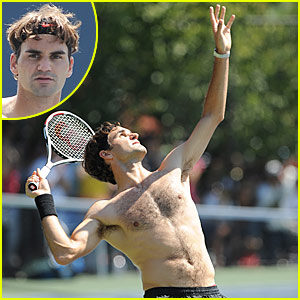 Roger Federer: Shirtless Sexy