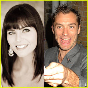 Samantha Burke Gives Birth To Jude Law's Daughter