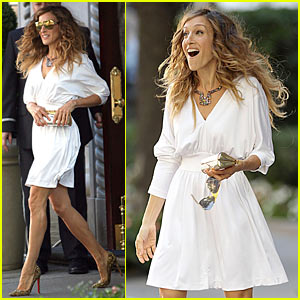 Sarah Jessica Parker: Sex and the City 2 Begins Shooting!