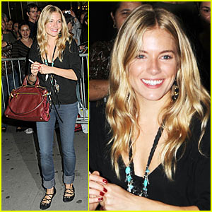 Sienna Miller Previews 'After Miss Julie'