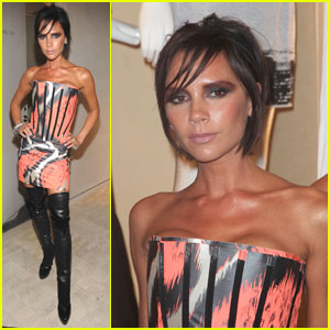 Victoria Beckham is Animal Print Posh