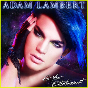 Adam Lambert: 'For Your Entertainment' Album Cover