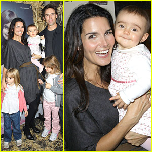 Angie Harmon Celebrates Chocolate Milk