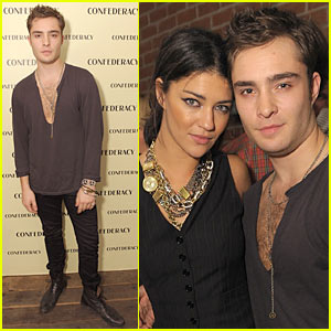 Ed Westwick couple