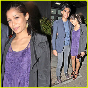 Freida Pinto & Dev Patel Climb The Mango Tree