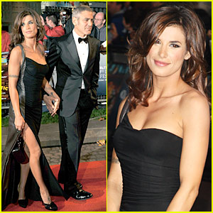 George Clooney & Elisabetta Canalis: Fantastic Mr. Fox!