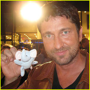 Gerard Butler: Elephant Project Proud