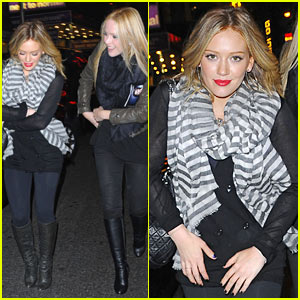 Hilary Duff & Leah Miller: A Steady Rain!