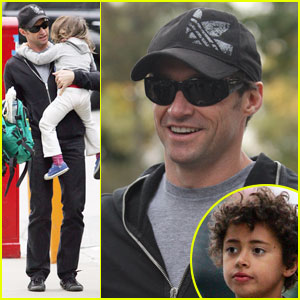 Hugh Jackman: Family Birthday Boy