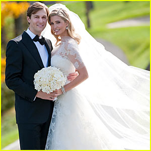 Ivanka Trump: First Wedding Pictures! | Ivanka Trump, Jared ...