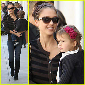 Honor Warren & Jessica Alba: Rodeo Drive Darlings