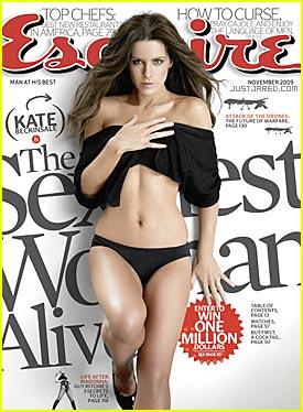 Kate Beckinsale Covers Esquire November 2009