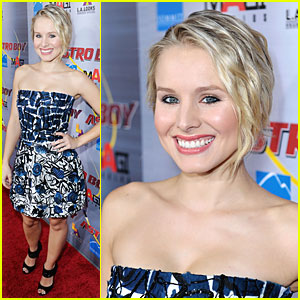 Kristen Bell is Animated in 'Astro Boy'