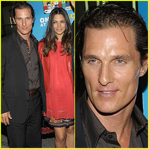 Matthew McConaughey & Camila Alves Find 'Peace'