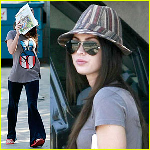 Megan Fox's Dog Visits Animal Hospital