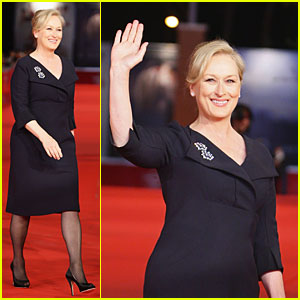 Meryl Streep is Radiant in Rome