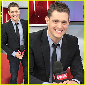 Michael Buble Goes Live On eTalk