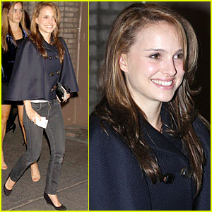 Natalie Portman is in a Hamlet Hurry