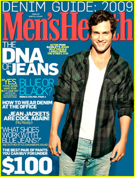 Penn Badgley Covers 'Men's Health' November 2009