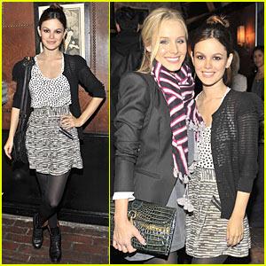 Rachel Bilson & Kristen Bell: Madewell Mates