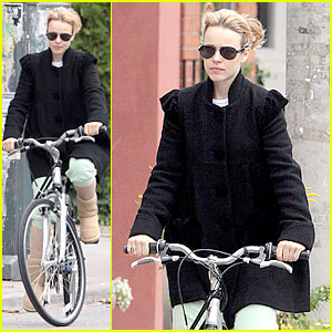 Rachel McAdams: Bicycle Built For One