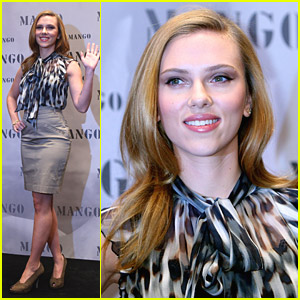 Scarlett Johansson Is Mad For Mango
