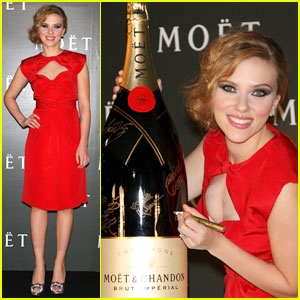Scarlett Johansson is Moet Magnificent
