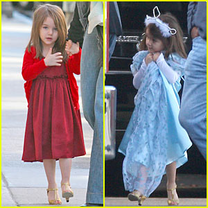Suri Cruise: High Heel Halloween