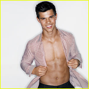 Taylor Lautner: GQ Shirtless Sexy