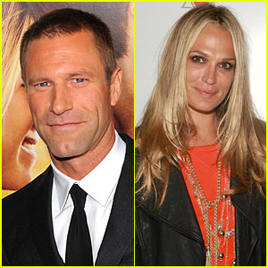 Aaron Eckhart & Molly Sims: New Couple!