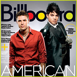 Adam Lambert & Kris Allen: Billboard Boys