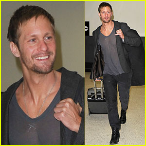 Alexander Skarsgard: Chateau Marmont, Here I Come!