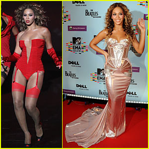 Beyonce Brings Her Sweet Dreams to the EMAs