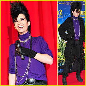 Bill Kaulitz Premieres Arthur and the Minimoys 2