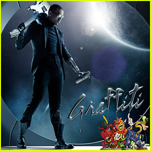 Chris Brown: 'Graffiti' Album Cover Revealed!