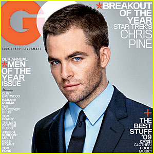Chris Pine Covers 'GQ Magazine' October 2009