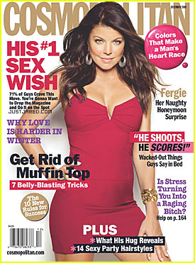 Fergie Covers 'Cosmopolitan' December 2009