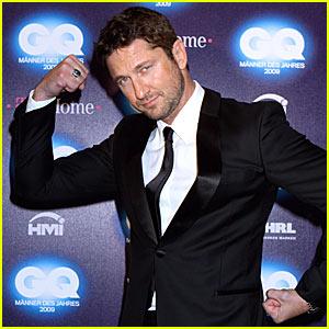 Gerard Butler: GQ Men Of The Year 2009!