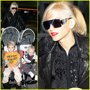 Gwen Stefani & Family: Old-Fashioned European Holiday!