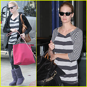 January Jones: 'Saturday Night Live' Hosting Prep!
