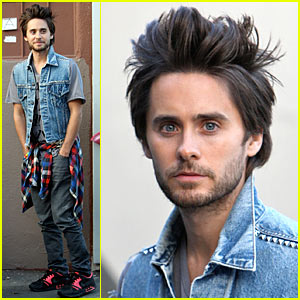 Jared Leto Gets The Hives