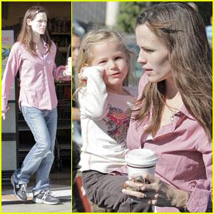 Jennifer Garner & Violet: Gelson's Gals