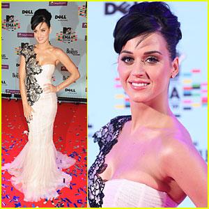 Katy Perry: Confetti Cutie @ EMAs 2009