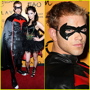 Kellan Lutz & Ashley Greene: Halloween Hosts!
