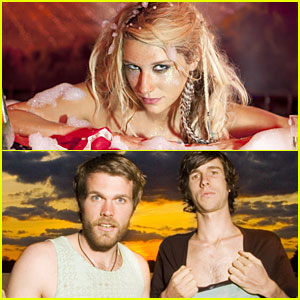 Ke$ha Blah Blah Blahs With 3OH!3