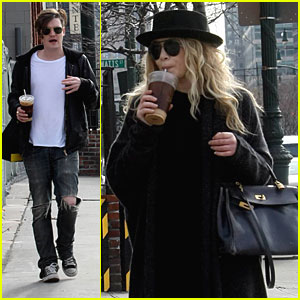 Mary-Kate Olsen & Nate Lowman are Iced Coffee Cool