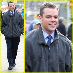 Matt Damon Highlights Worldwide Hunger Issues